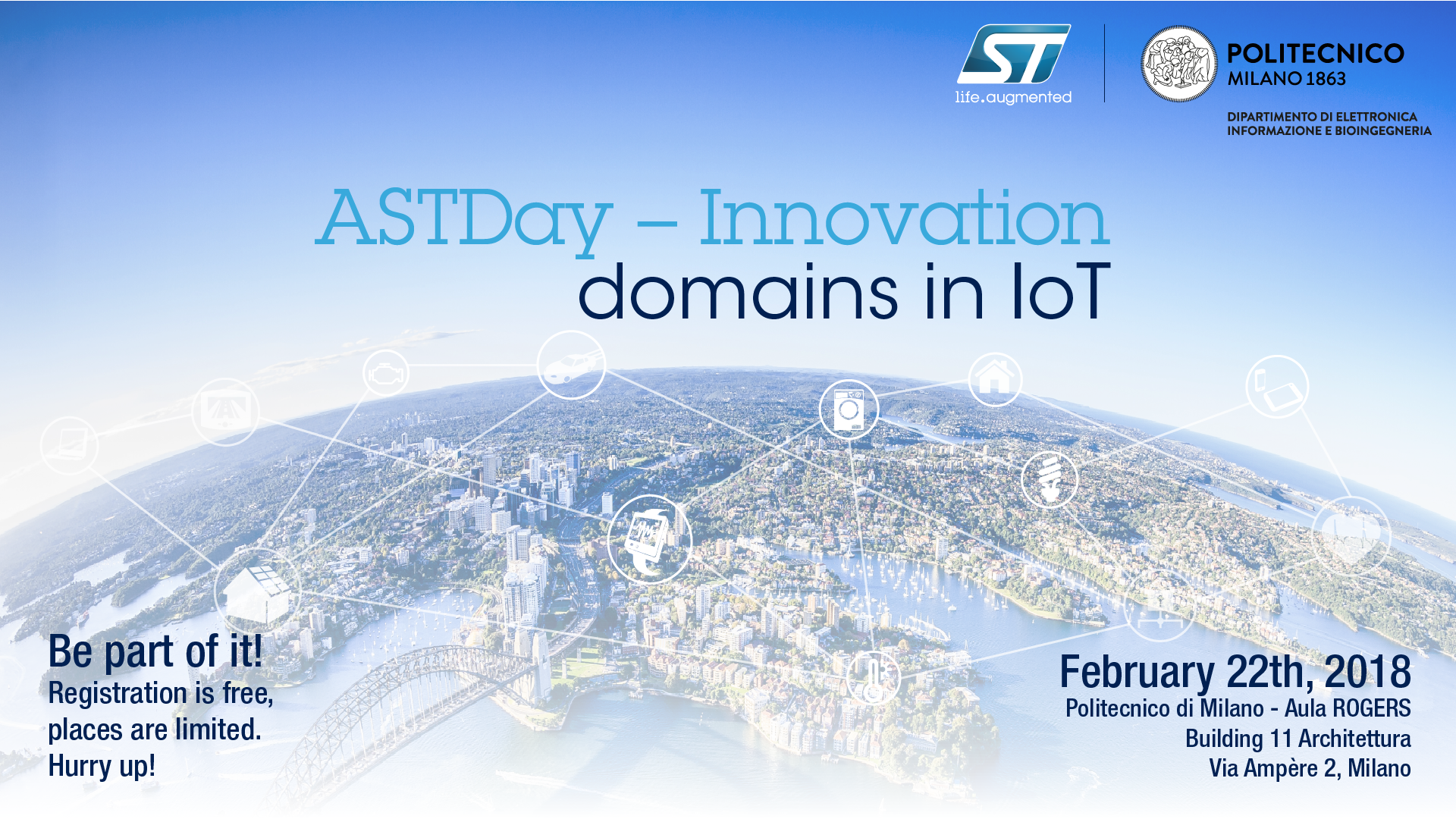 ASTDay: Innovation Domains in IoT