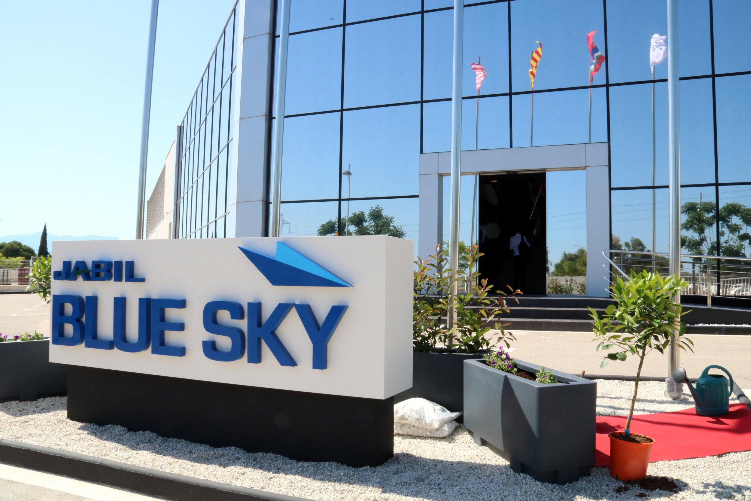 Innaugurazione del Jabil Blue Sky di Marcianise