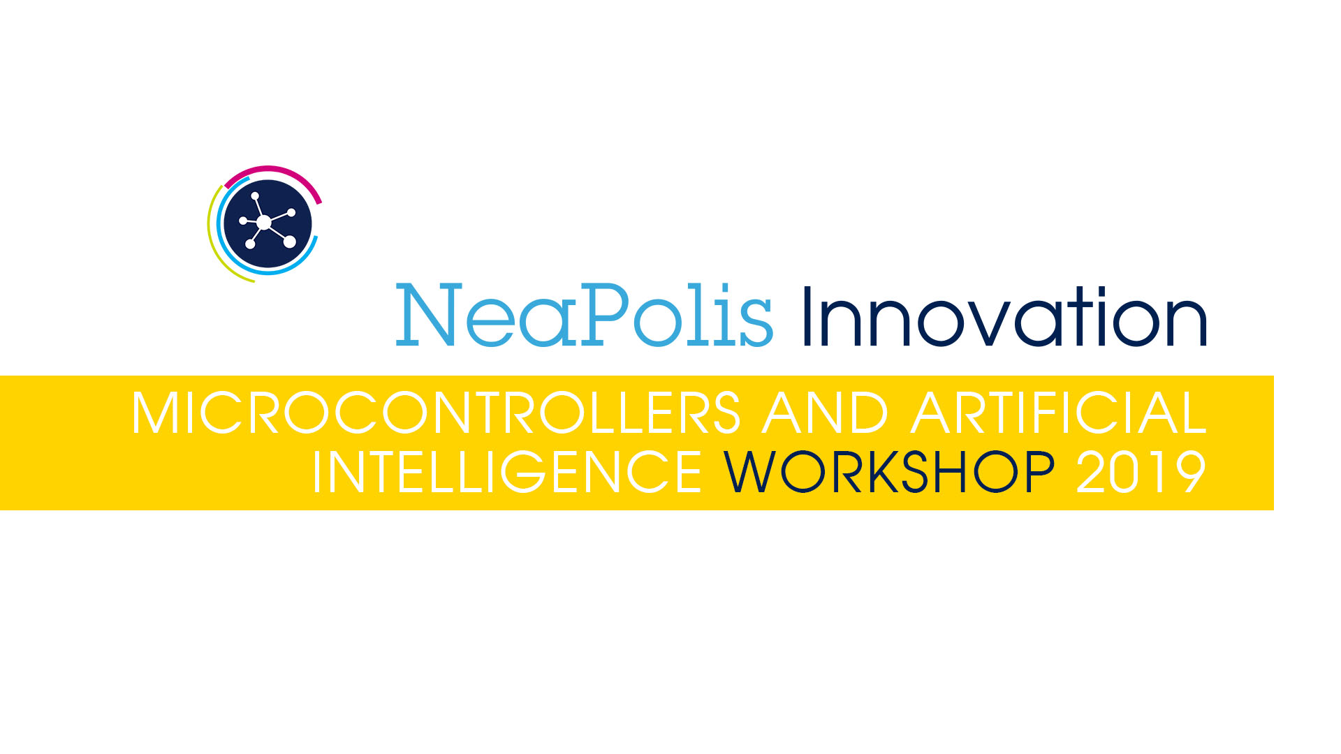 Microcontrollers and artificial intelligence workshop 2019