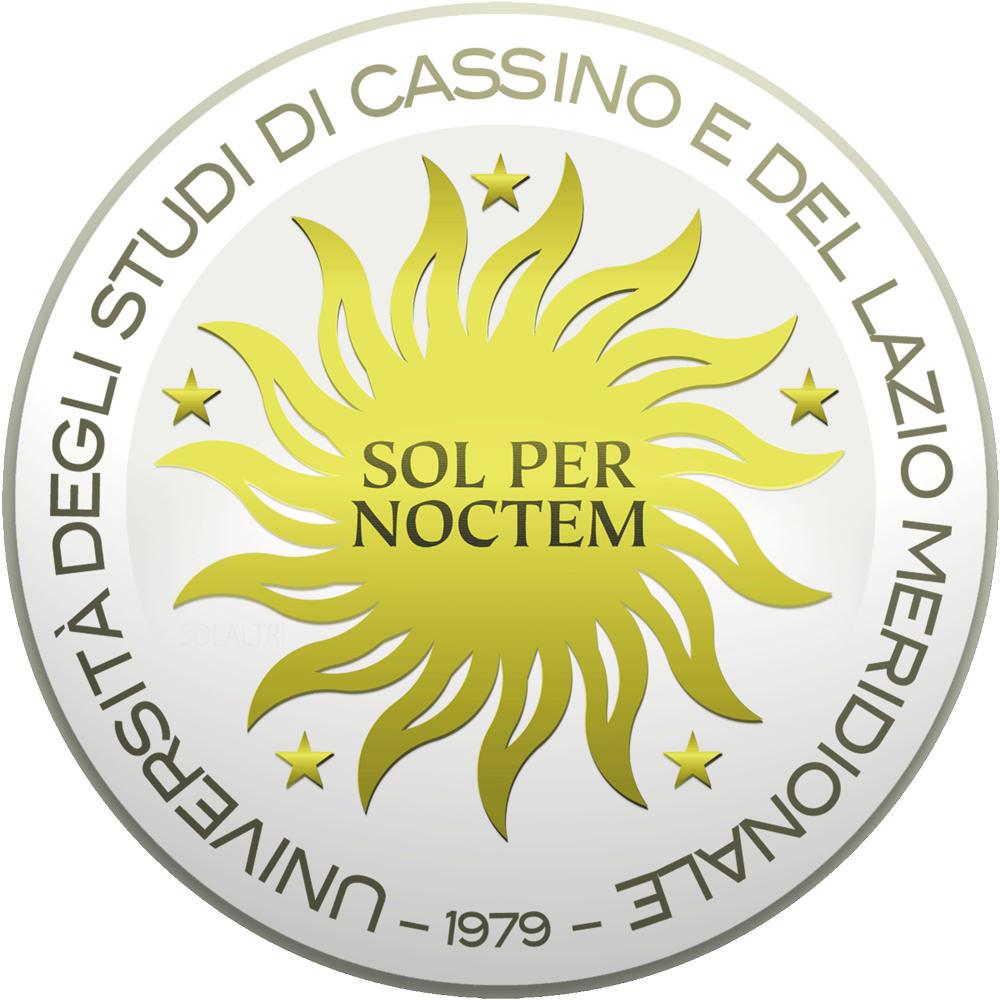 Logo della Università degli Studi di Cassino e del Lazio Meridionale